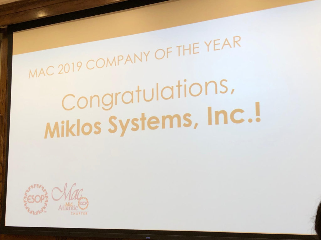 company of the year announcement